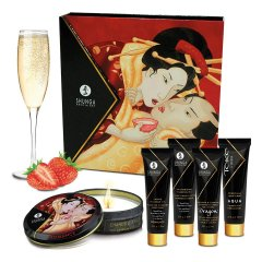 Фото Подарочный набор Shunga GEISHAS SECRETS - Sparkling Strawberry Wine